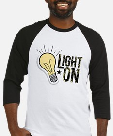 """Light On"" Baseball Jersey"