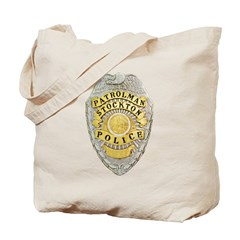 Stockton Police Badge Tote Bag