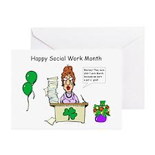 Social Work Month Desk2 Invitations (Pk of 20)