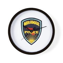 Miramar Police Wall Clock