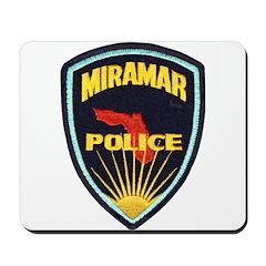 Miramar Police Mousepad