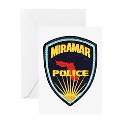 Miramar Police Greeting Card