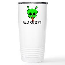 Alien Wassup Travel Coffee Mug