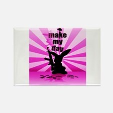 Make My Day Rectangle Magnet (100 pack)