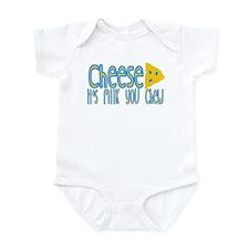Cheese! It's Milk You Chew! Infant Bodysuit