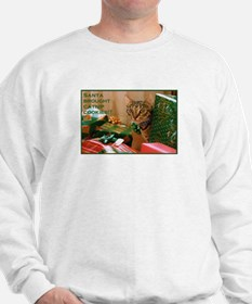 Expressively You! Catnip Cat Christmas Sweatshirt