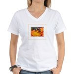 Pollination Women's V-Neck T-Shirt