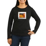 Pollination Women's Long Sleeve Dark T-Shirt