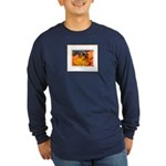 Pollination Long Sleeve Dark T-Shirt