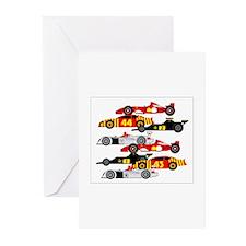 Cute Lotus cars Greeting Cards (Pk of 10)