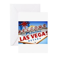 Cute Las vegas Greeting Cards (Pk of 10)
