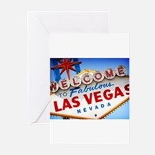 Unique Las vegas Greeting Cards (Pk of 10)