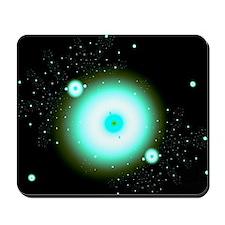 Nebula 9 Fractal Art Mousepad