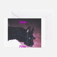 """Credible Critters """"Miss you"""" Cards (Pk of 10)"""