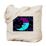 Sleepy Moonlight Tote Bag