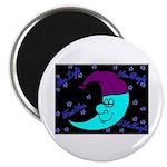 Sleepy Moonlight Magnet