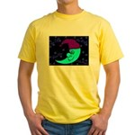 Sleepy Moonlight Yellow T-Shirt