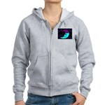 Sleepy Moonlight Women's Zip Hoodie