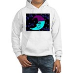 Sleepy Moonlight Hooded Sweatshirt