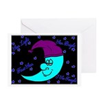 Sleepy Moonlight Greeting Cards (Pk of 10)