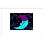 Sleepy Moonlight Large Poster