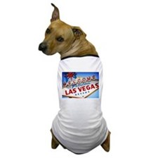 Unique Vegas Dog T-Shirt