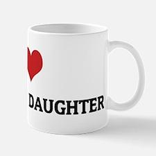 I Love My Lesbian Daughter Mug