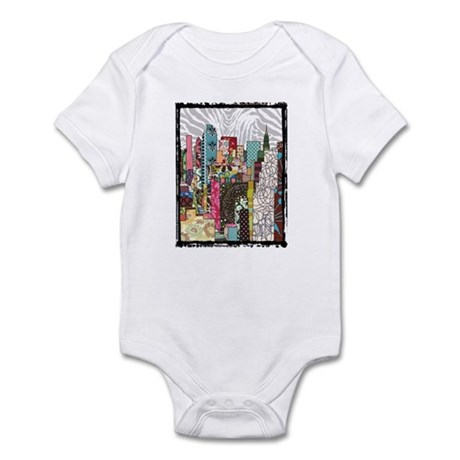 NYC Skyline Infant Bodysuit