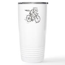 CatoonsT Bicycle Cat Travel Mug