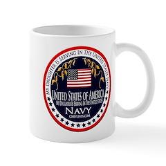 Navy Daughter Mug