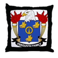 Ferguson Family Crest Throw Pillow