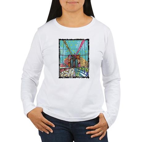 Brooklyn Bridge Women's Long Sleeve T-Shirt