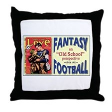 FANTASY FOOTBALL 1933 Throw Pillow