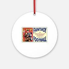 FANTASY FOOTBALL 1933 Ornament (Round)