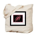 African Daisy Framed Tote Bag