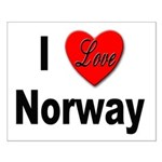 I Love Norway Small Poster