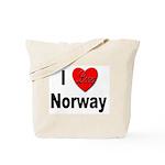 I Love Norway Tote Bag
