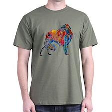 Borzoi on Dark T's T-Shirt