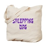 Shlepping Regular Canvas Tote Bag