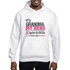 BreastCancerHero Grandma Hoodie