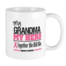 BreastCancerHero Grandma Mug