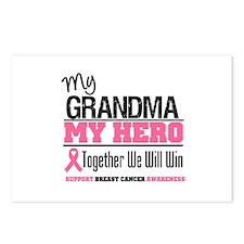 BreastCancerHero Grandma Postcards (Package of 8)