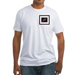 African Daisy Framed Fitted T-Shirt