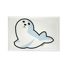 Baby Seal Rectangle Magnet (100 pack)