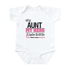 BreastCancerHero Aunt Infant Bodysuit