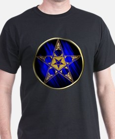 Pentagram with Inverted Star T-Shirt