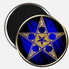 Pentagram with Inverted Star Magnet