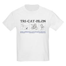 Catoons™ TRI-CAT-HLON™ Cat T-Shirt