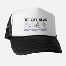 Catoons™ TRI-CAT-HLON™ Cat Trucker Hat