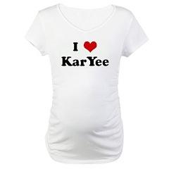 I Love KarYee Shirt